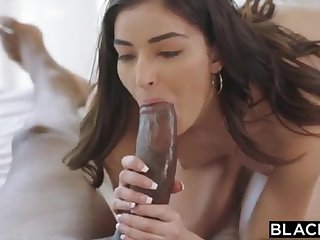 BLACKED School College Girl Vengeance Pounds Her Schoolteachers BIG Baneful COCK