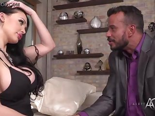 Aletta Ocean takes it near the butt - alettAOceanLive