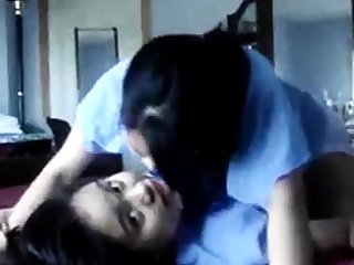 Amateur Asian teen lesbiens humping